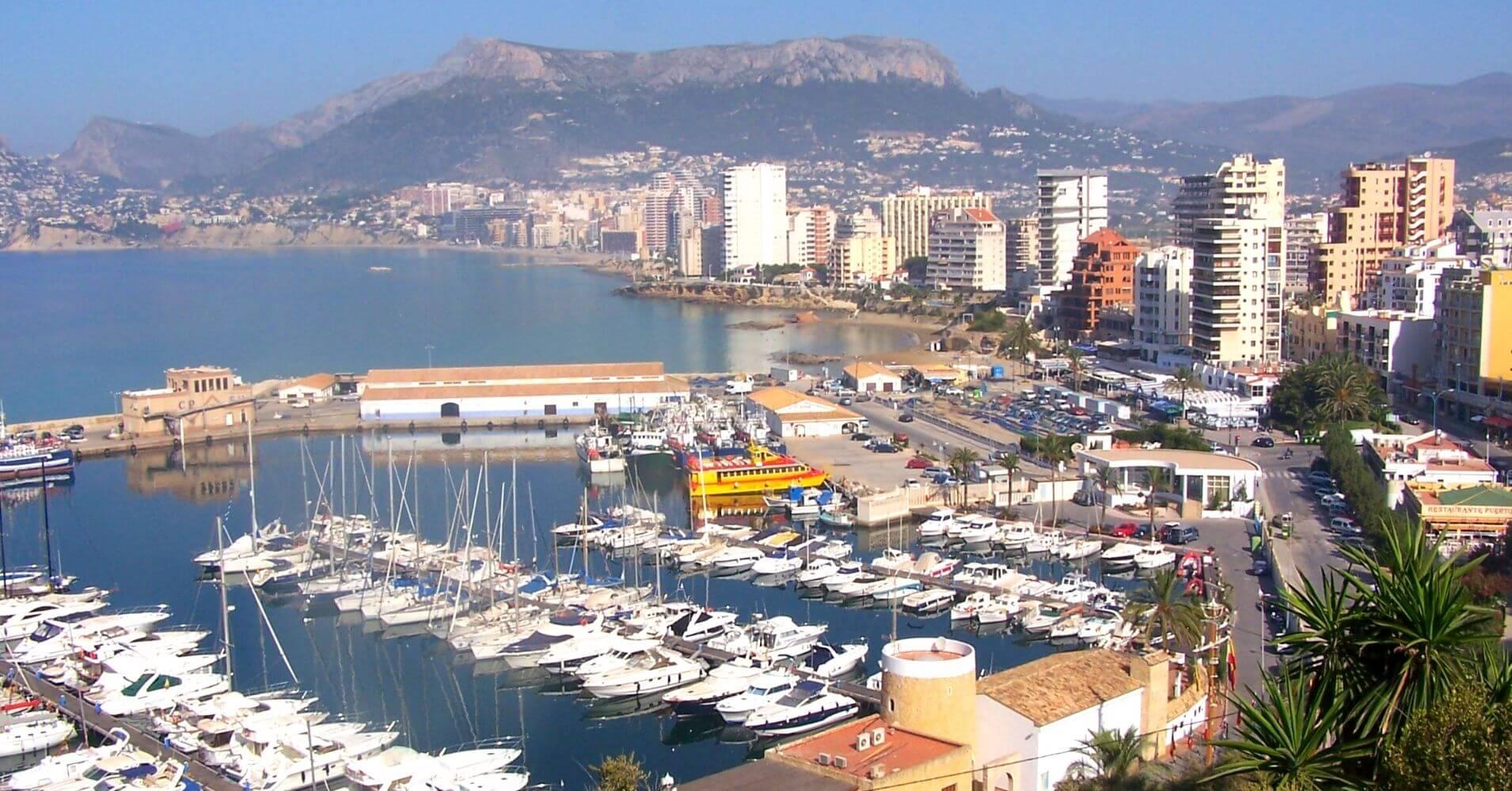 Puerto de Calpe. Alicante, Comunidad Valenciana.
