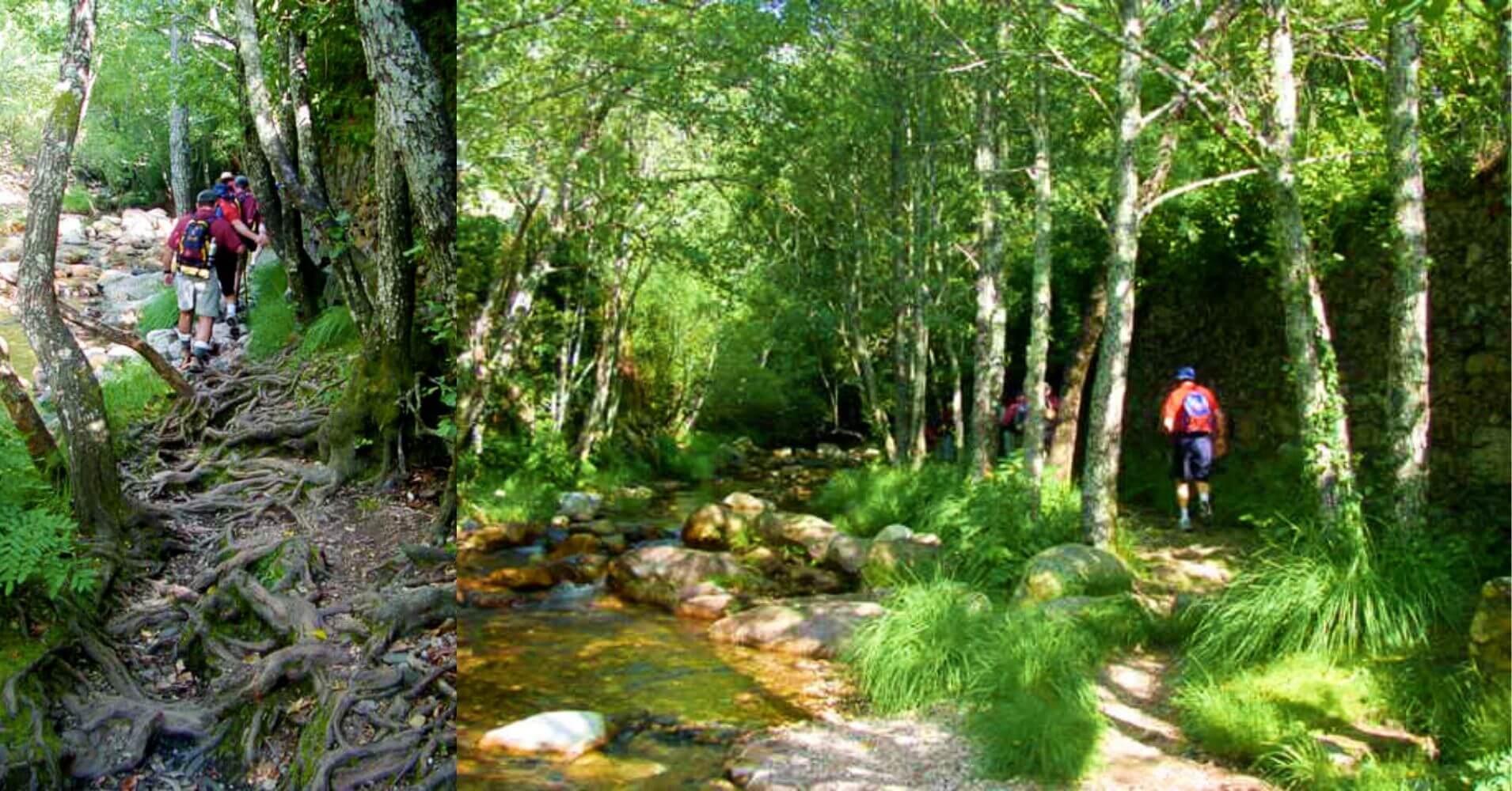 El Valle de las Batuecas en Salamanca. Castilla y León.