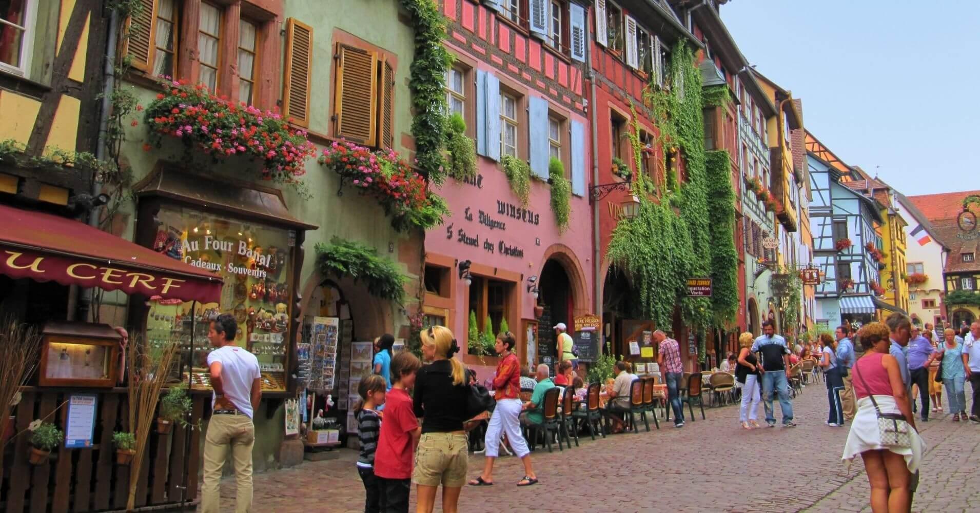 Ribeauvillé. Alto Rin. Gran Este. Francia.
