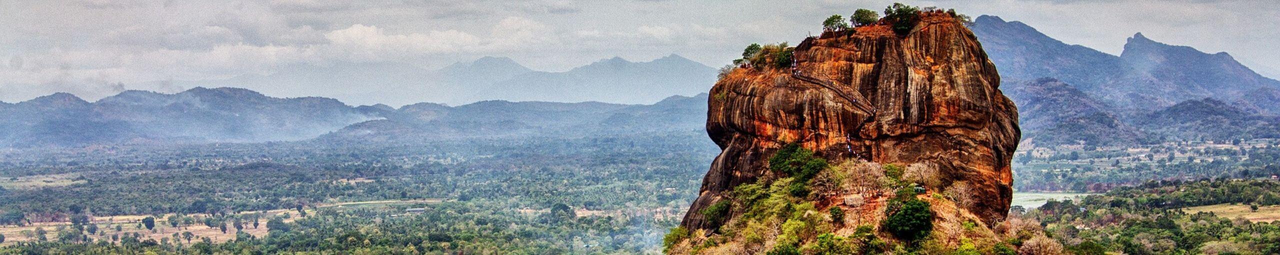 Roca de Sigiriya.