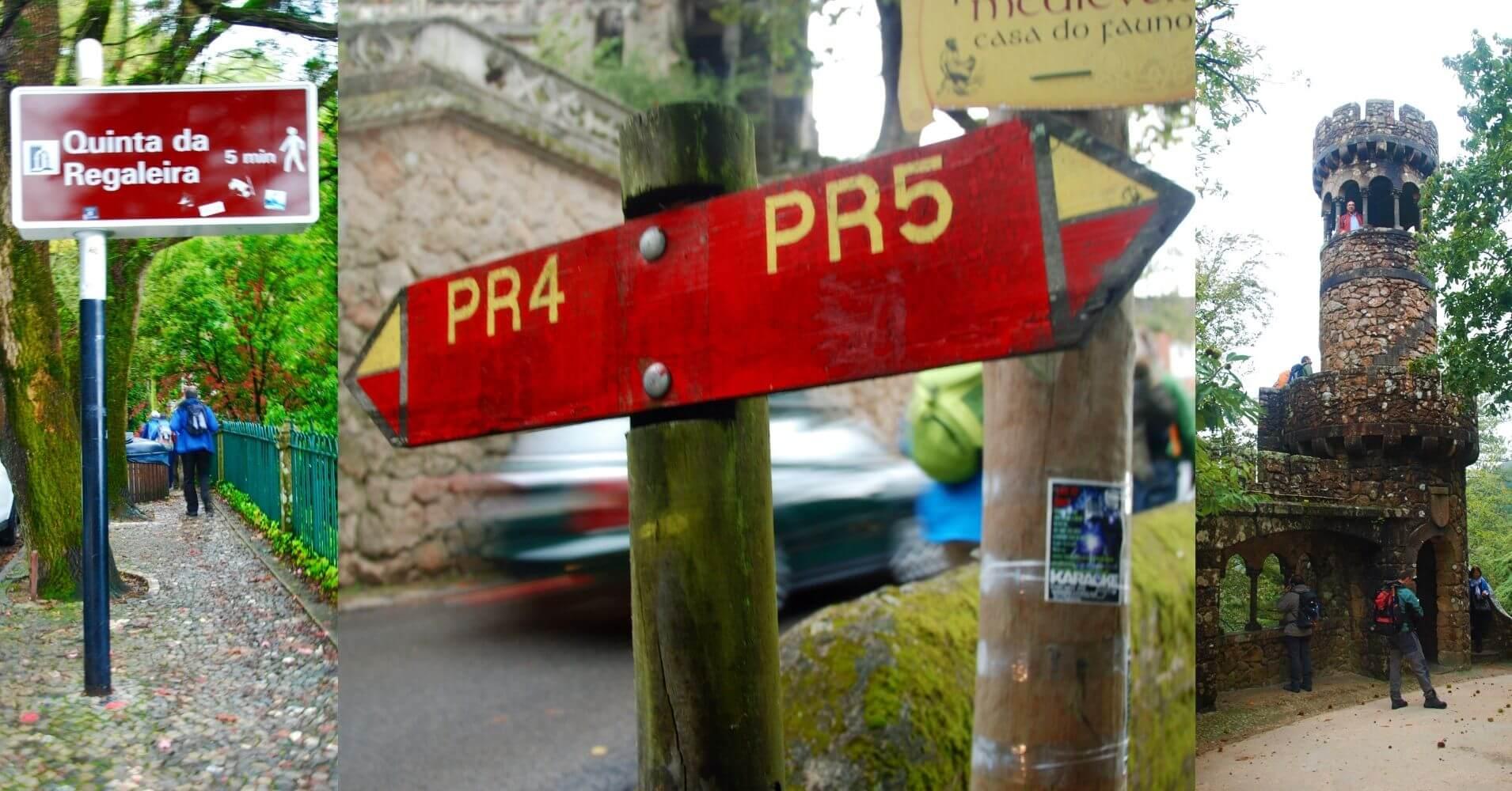 Senderos PR en Sinta. Portugal.