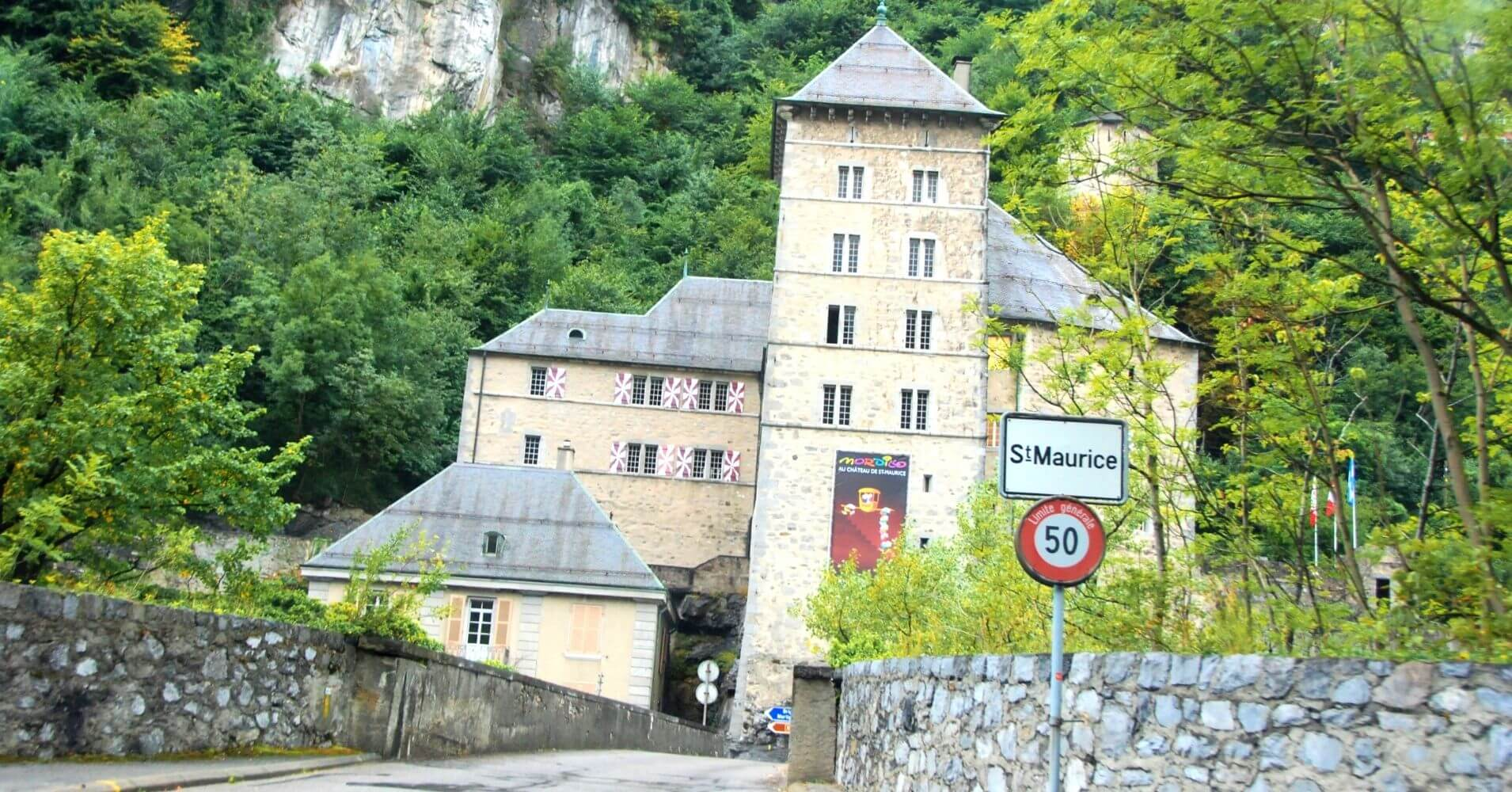 St. Maurice, Valais. Suiza.