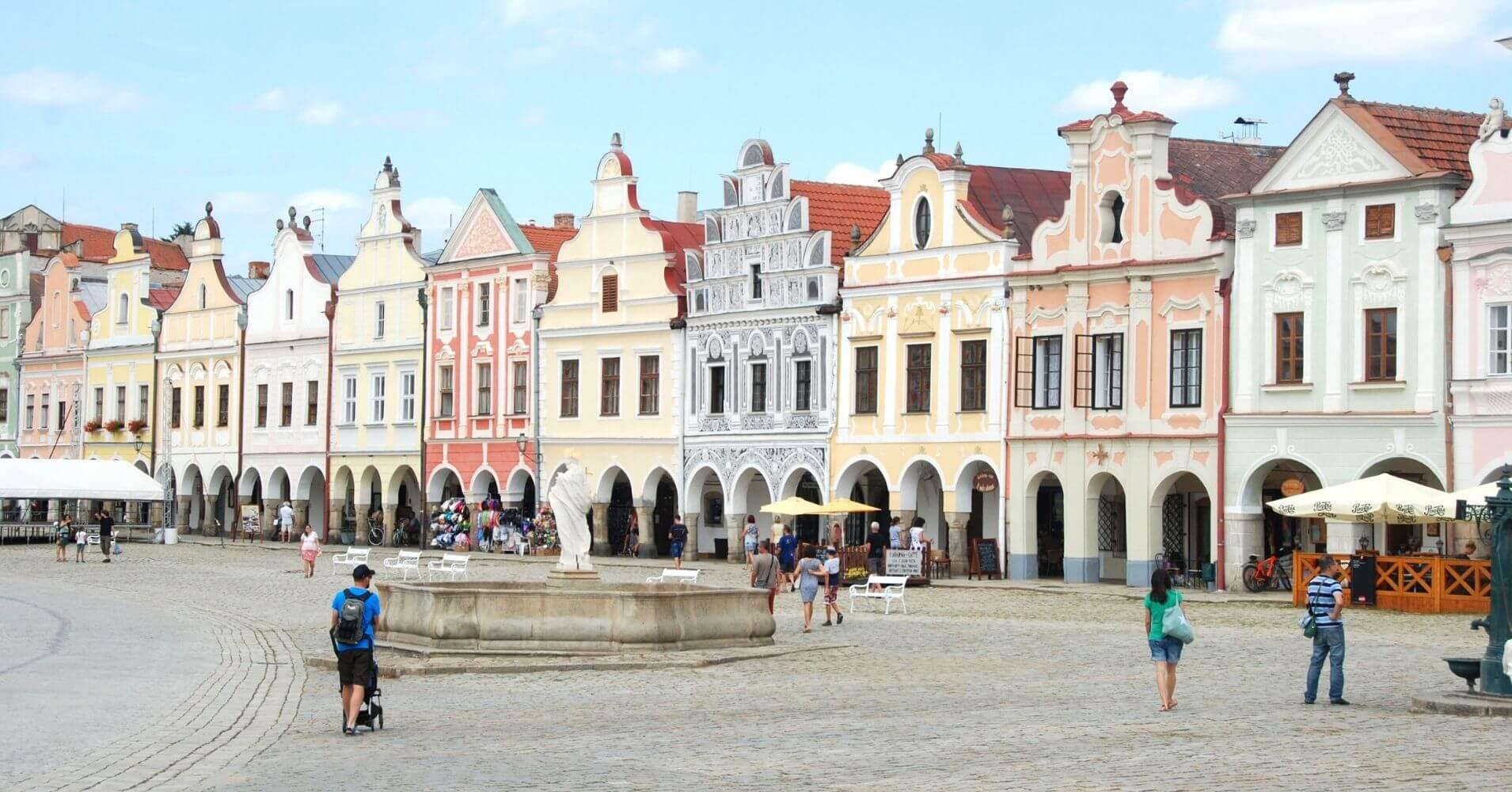 Telč, Ciudad Patrimonio. República Checa.