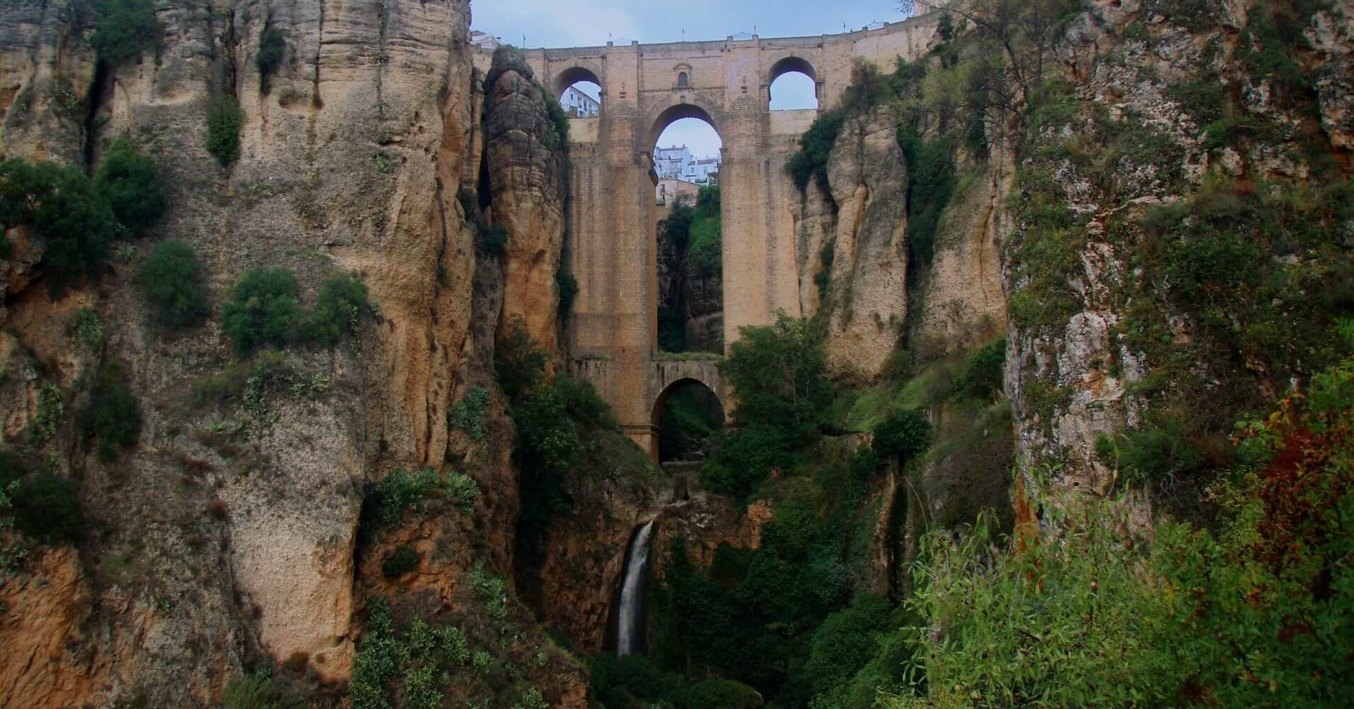 Viajar a Andalucía. Puente nuevo de Ronda. Málaga. Andalucía.
