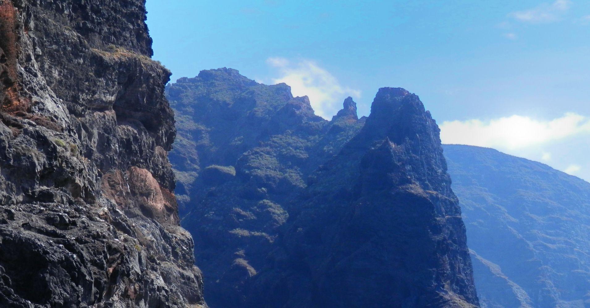 Acantilado de los Gigantes. Isla de Tenerife. Islas Canarias, España.