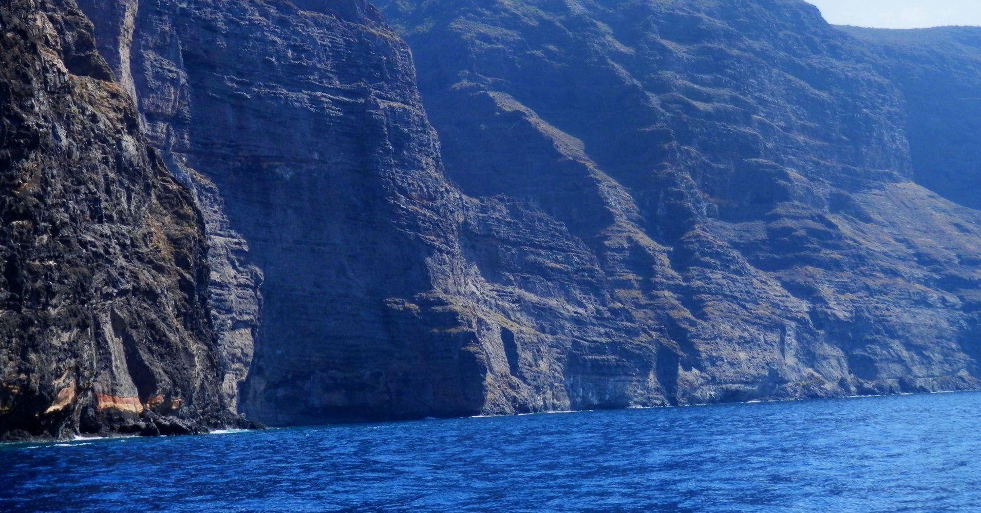 Acantilado de los Gigantes. Tenerife, Canarias. España.