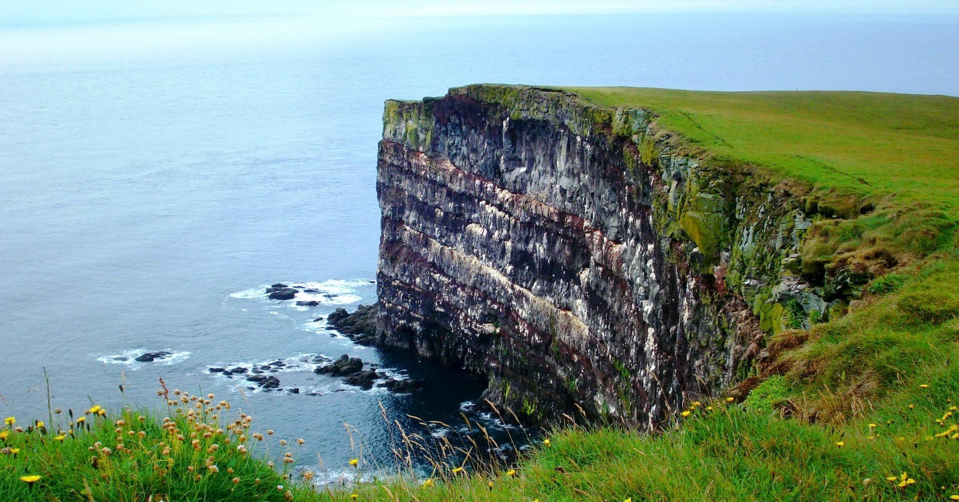 Acantilados. Vestfirðir. Ísafjörður. Islandia.