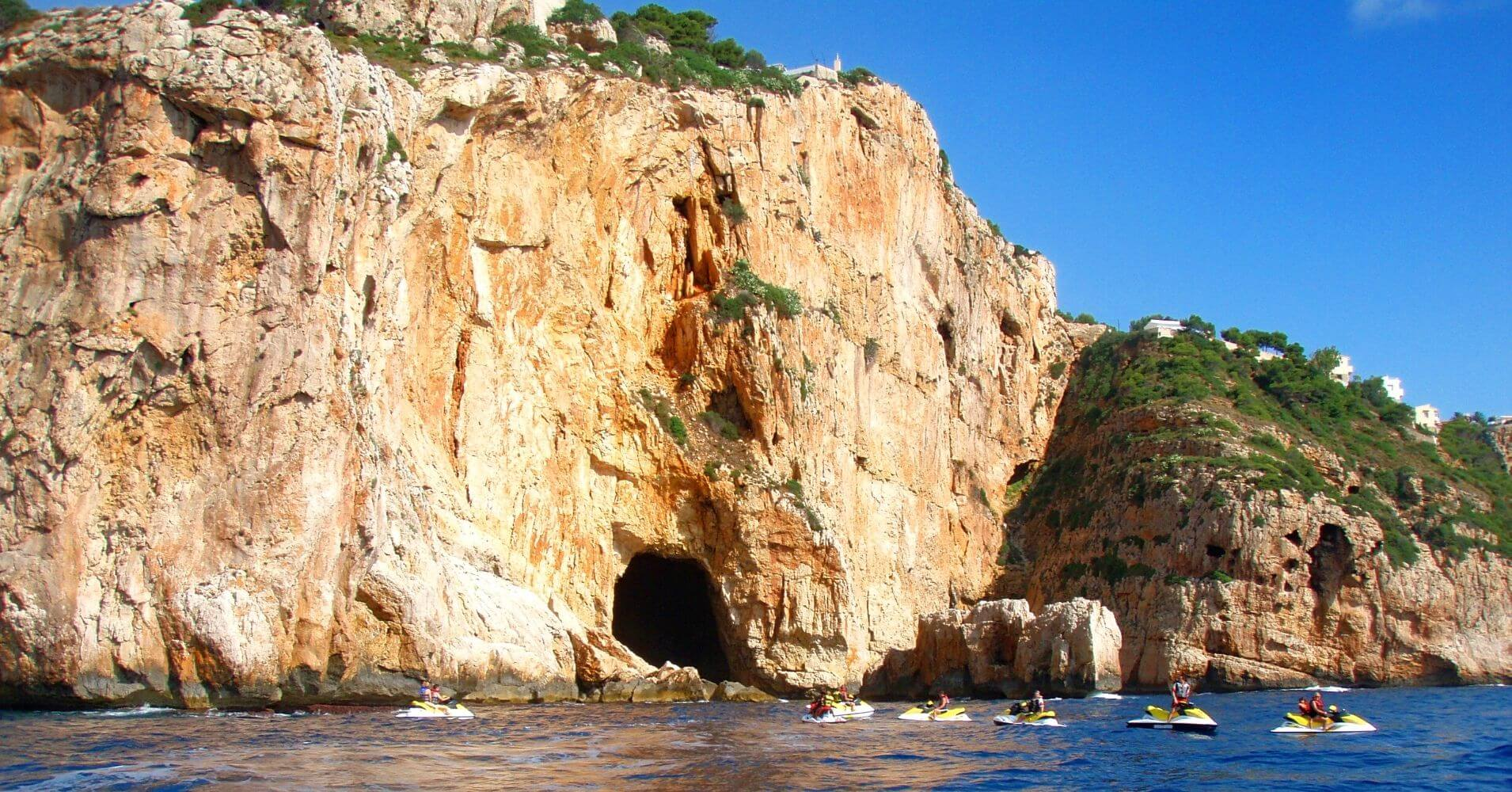 Cueva de los Órganos. Jávea. Alicante, Comunidad Valenciana.