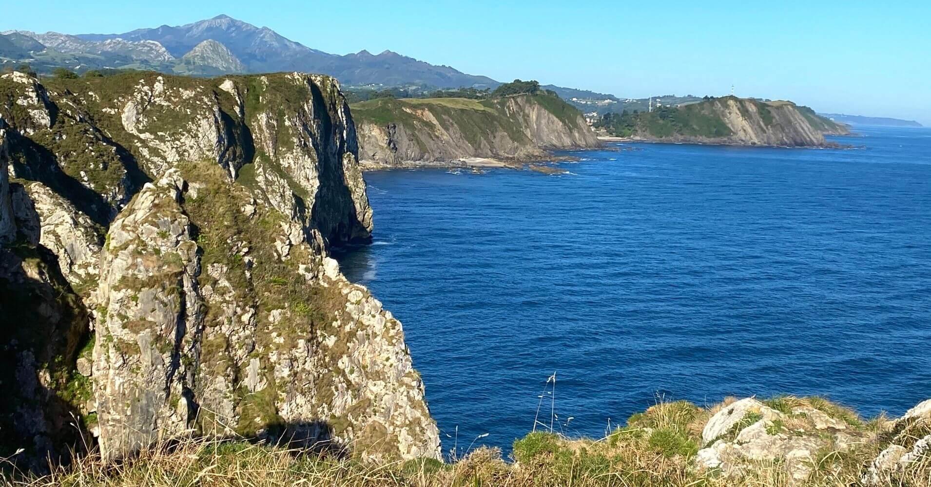 Acantilados del Infierno. Ribadesella, Asturias.