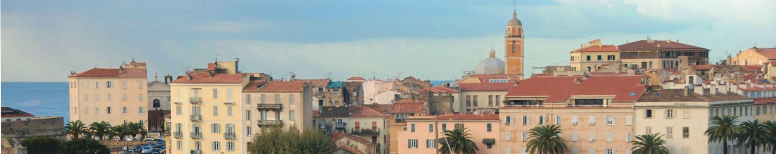 Ajaccio, Córcega del Sur. Francia.