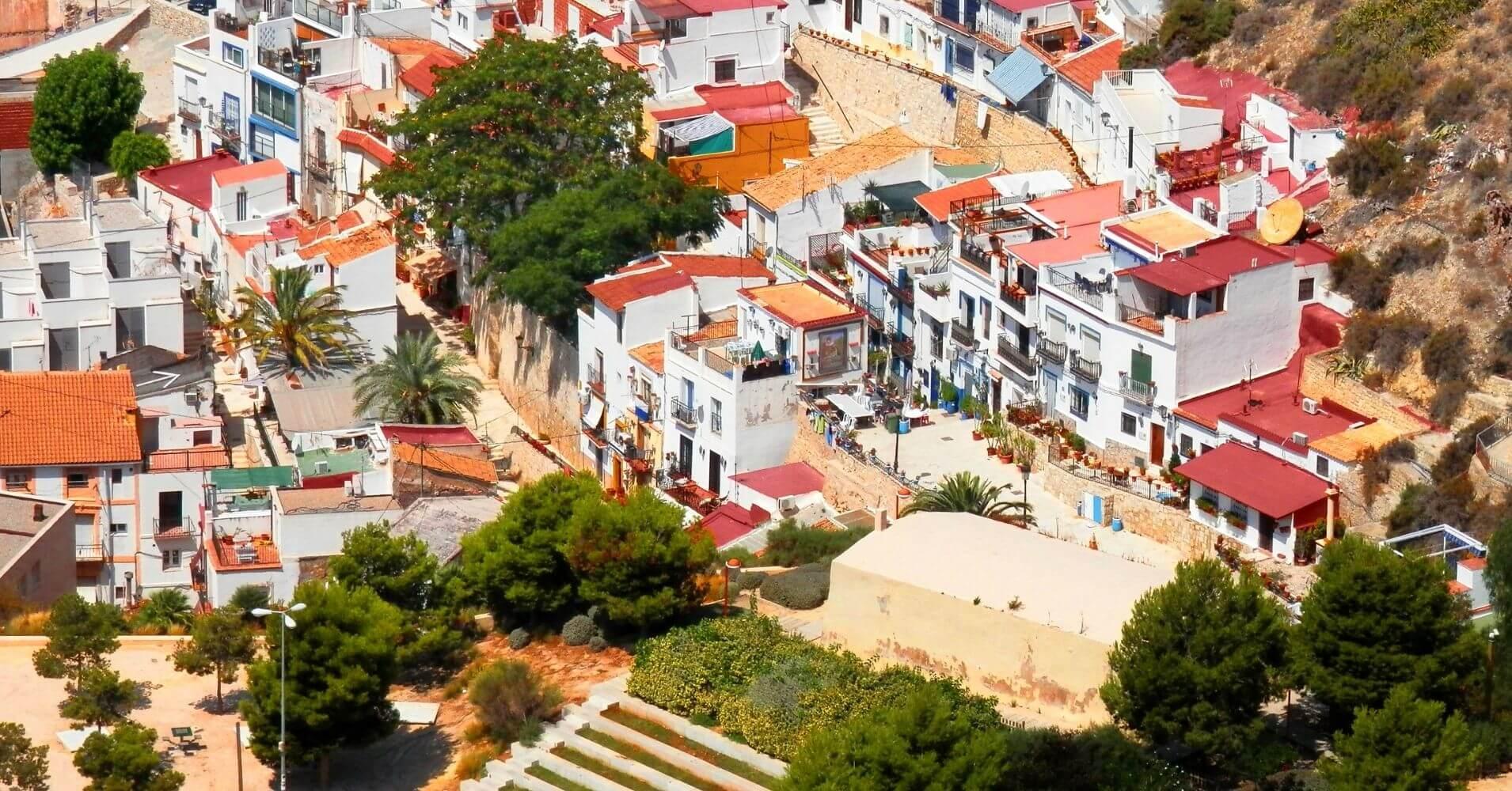 Alacant El Hito Blanco. Alicante en Comunidad Valenciana.