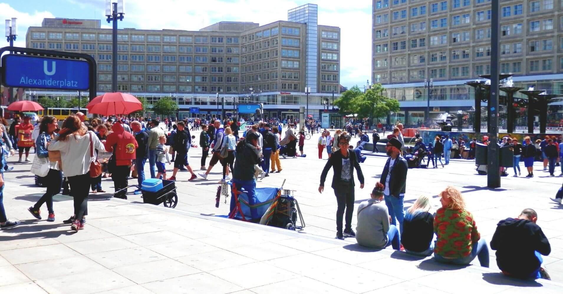 Alexander Platz, Berlín. Alemania.