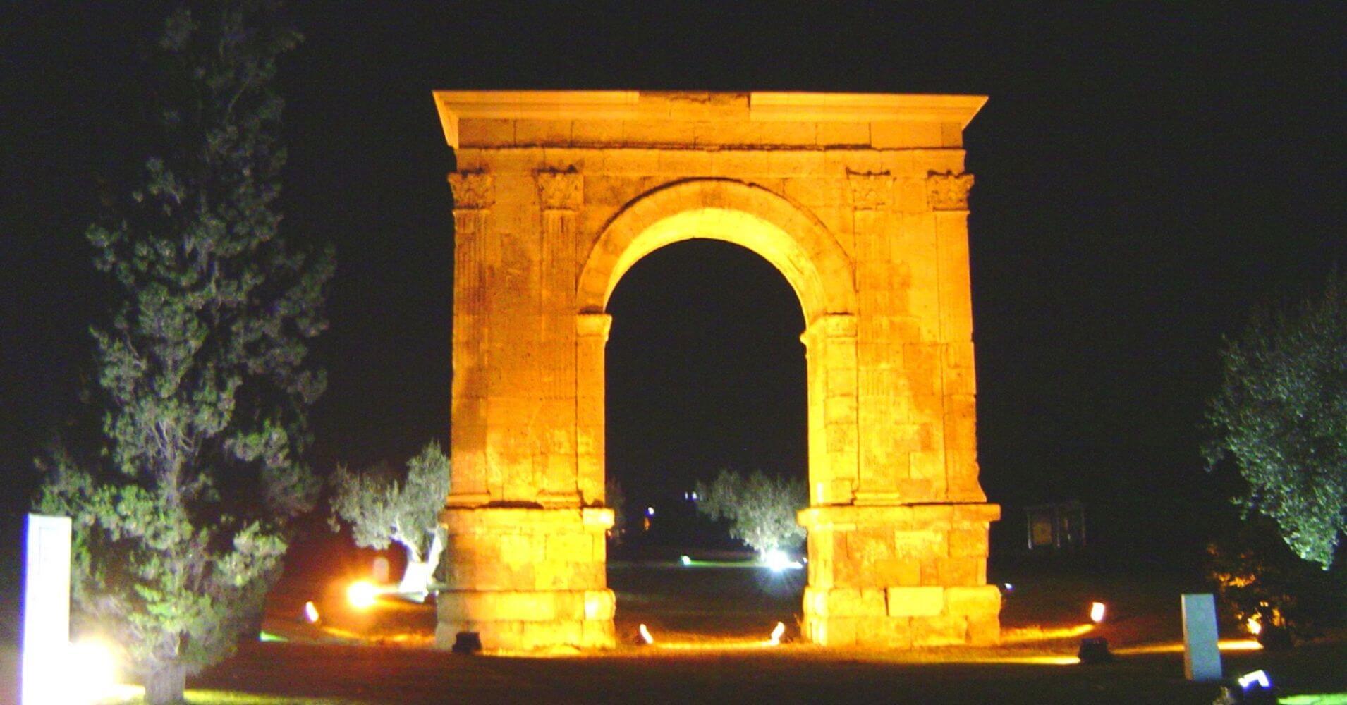 Arco de Barà. Rodá de Barà. Tarragona. Cataluña.