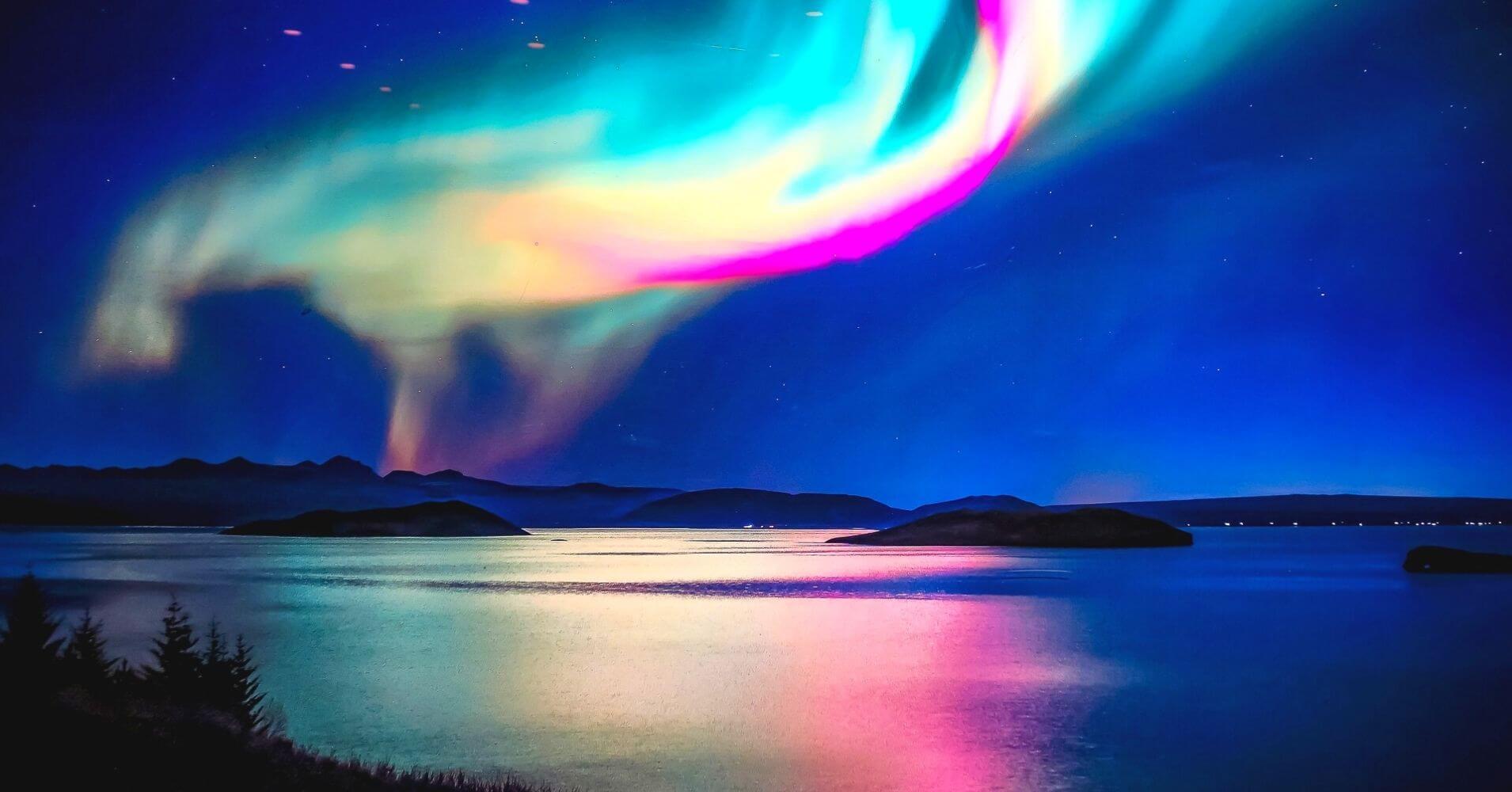 Aurora Boreal en Islandia.