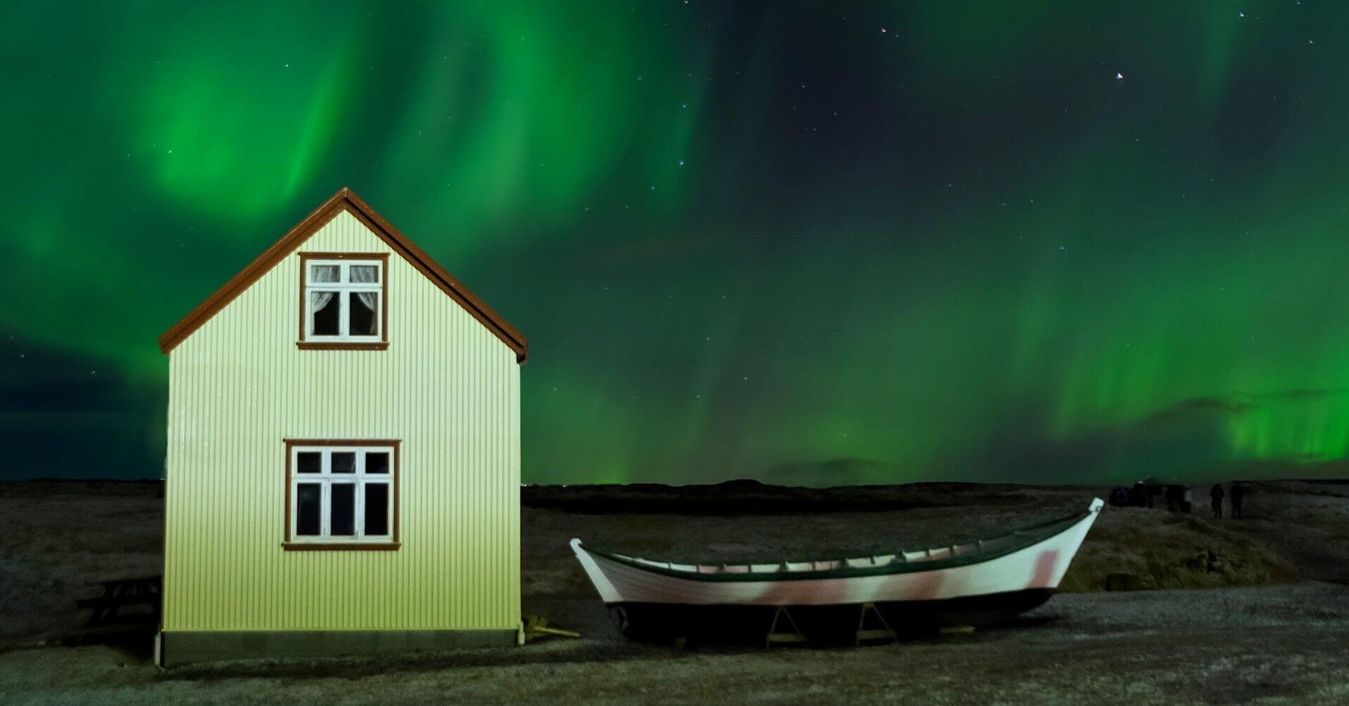 Aurora Boreal. Viajar a Islandia.