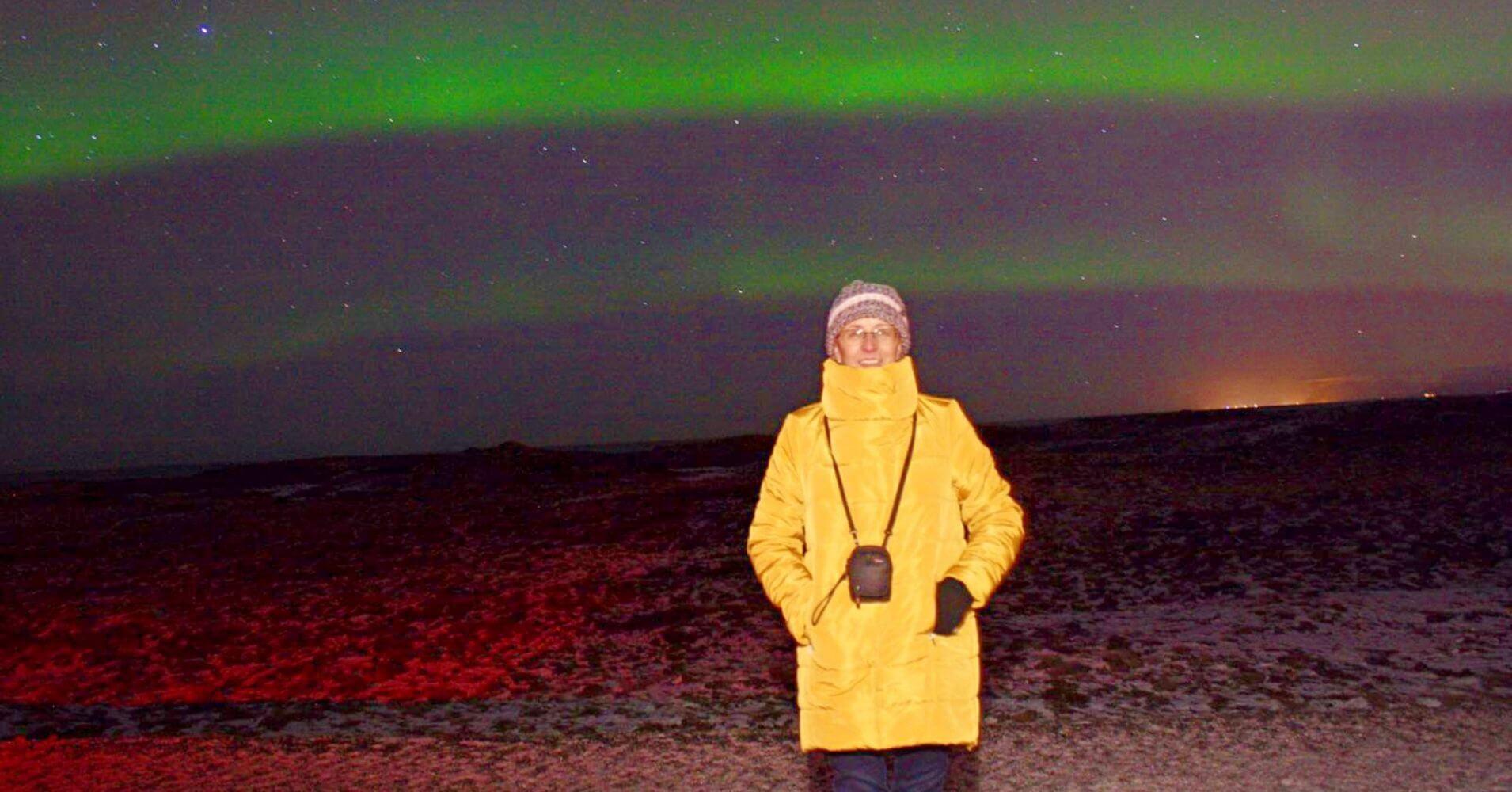 Aurora Boreal. Viaje a Islandia en Invierno.
