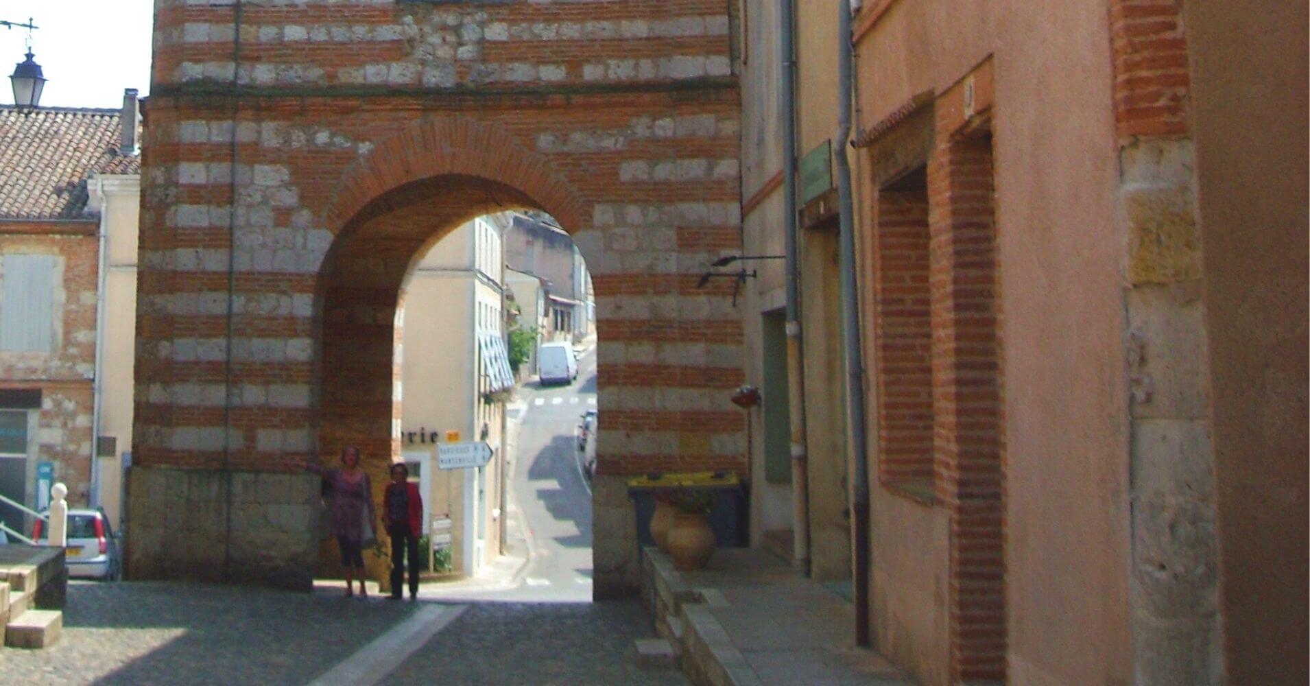 Auvillar. Tarn y Garona. Región de Occitania. Francia.