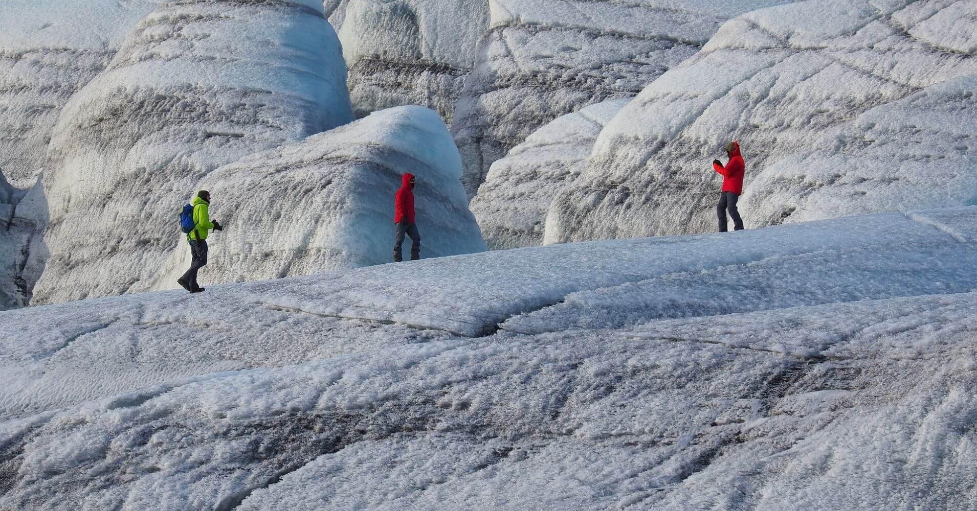 Aventura Glaciar, Iceland.