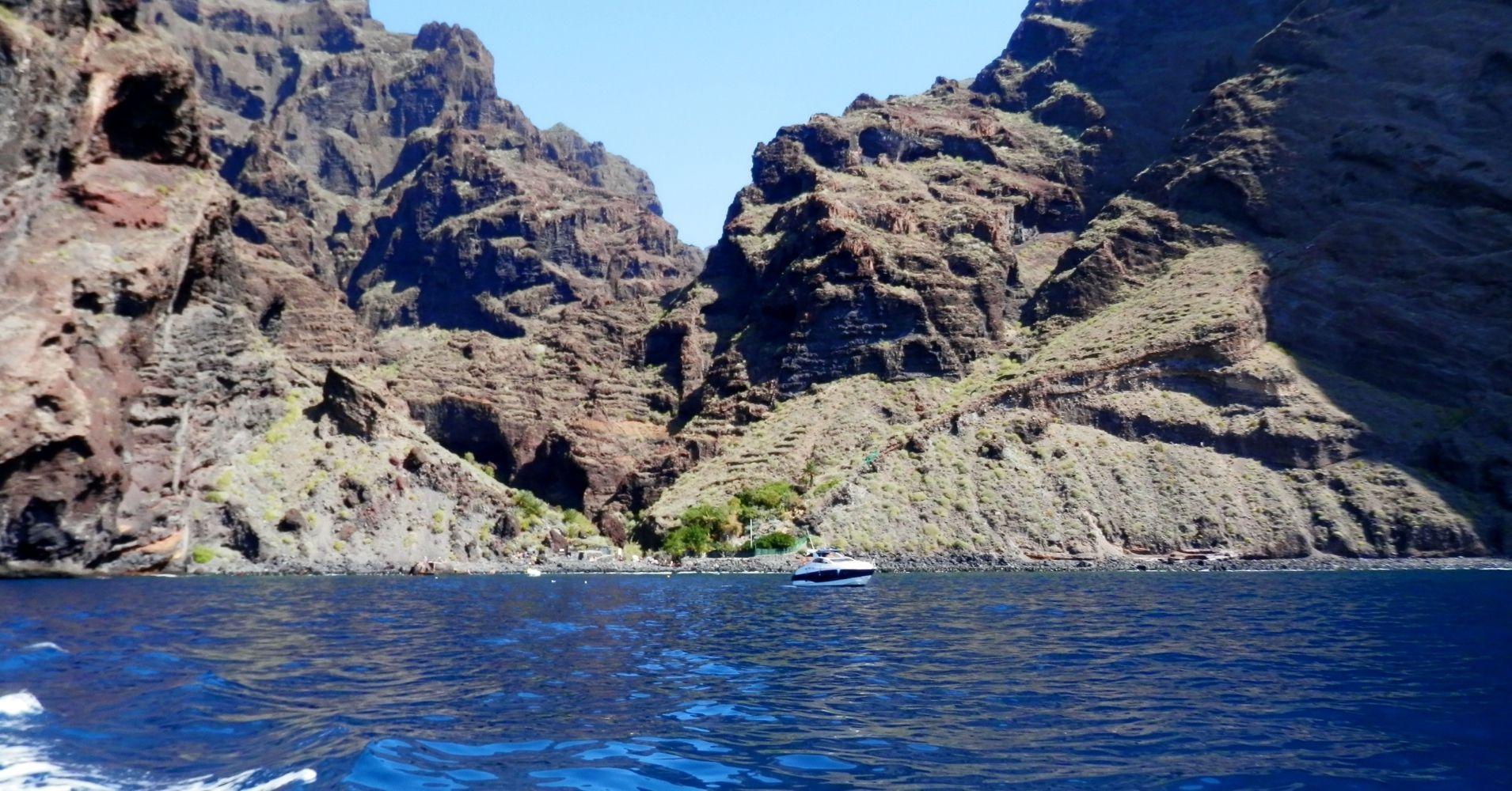 Barranco de Masca y los Gigantes. Isla de Tenerife. Canarias, España.