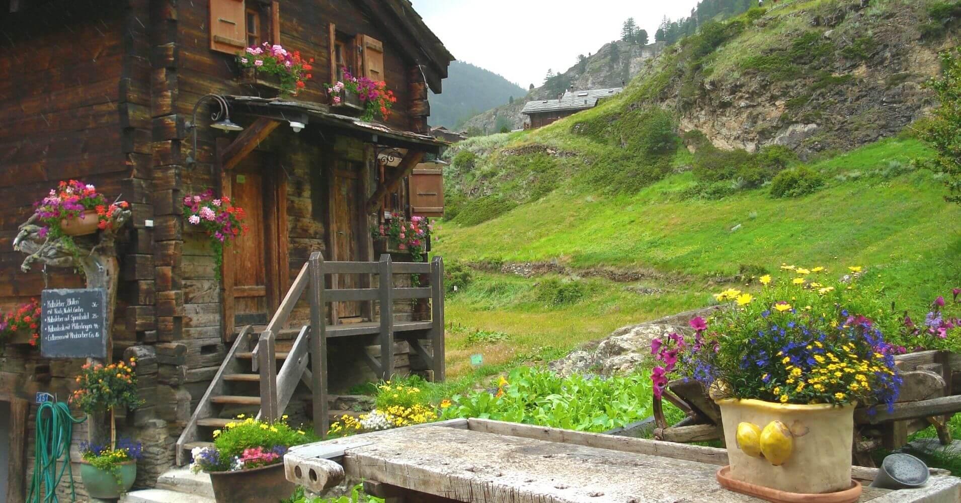 Blathen, Zermatt. Valais, Suiza.