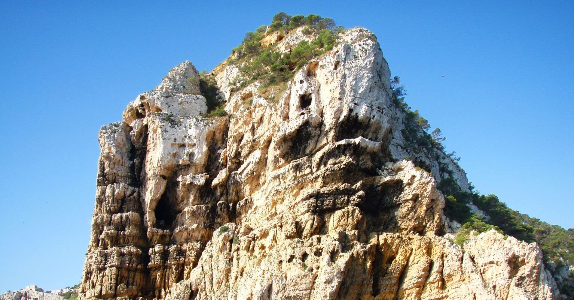 Cabo de Prim. Cuevas del Cabo de la Nao. Jávea. Alicante, Comunidad Valenciana.