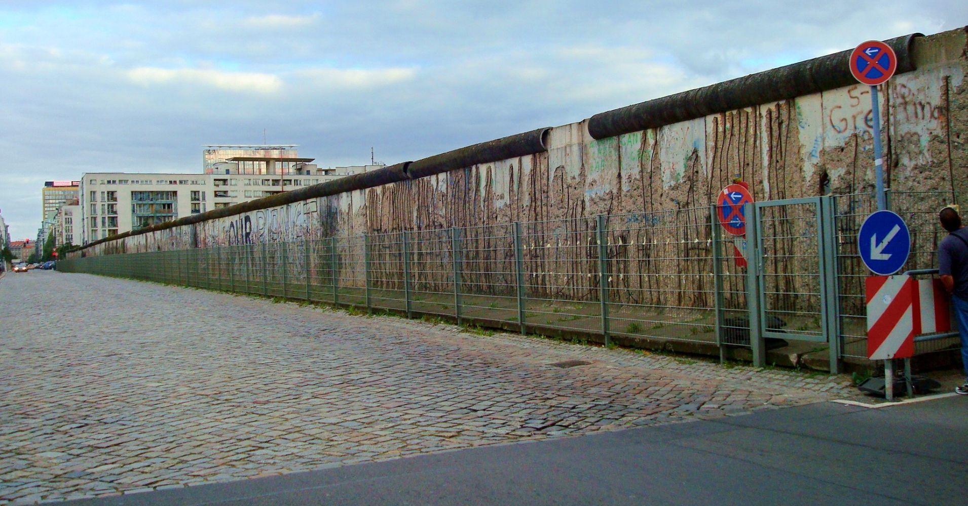 Caída del Muro de Berlín días de libertad. Alemania.