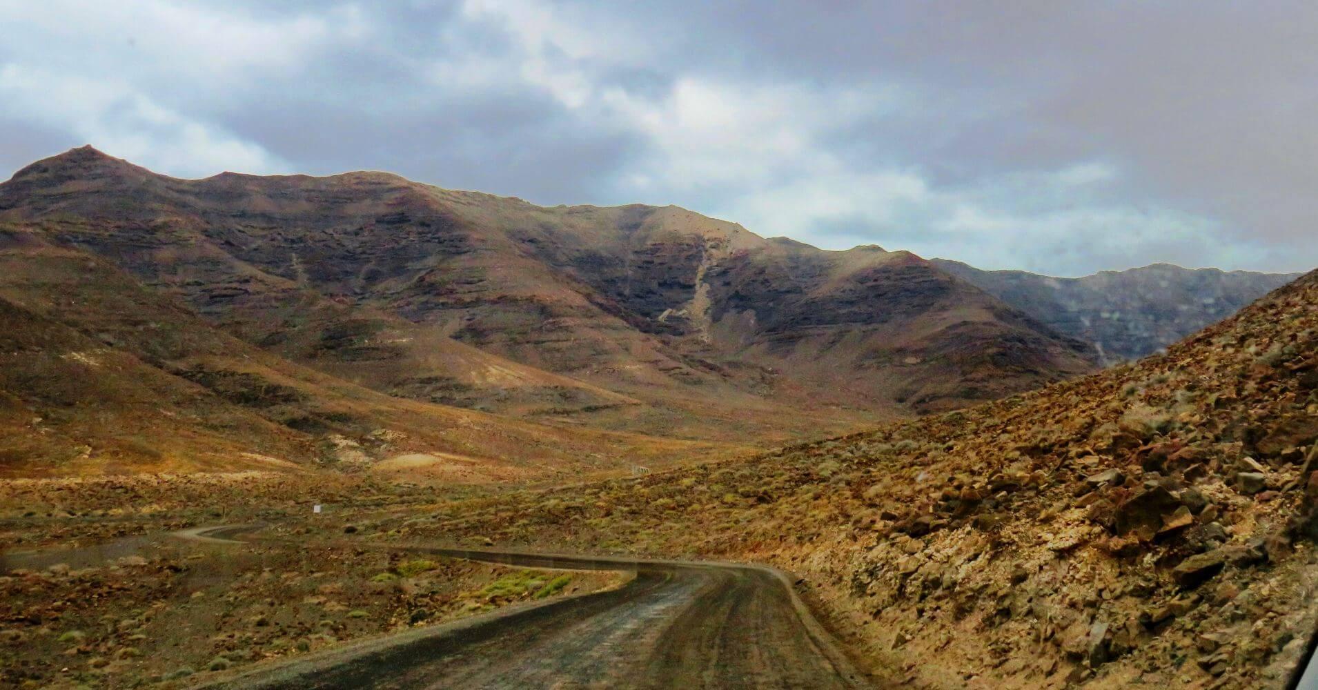 Camino de Cofete. Canarias.
