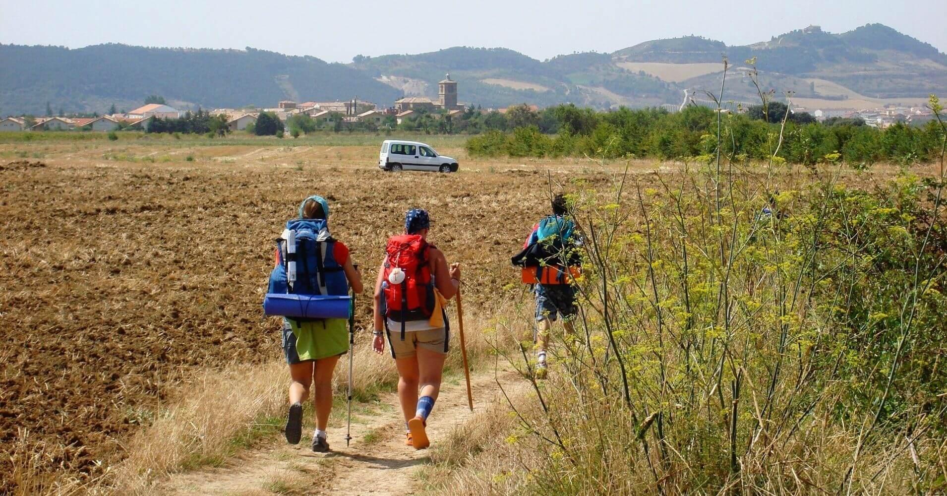 Camino de Santiago. Ruta Jacobea. Galicia, España.