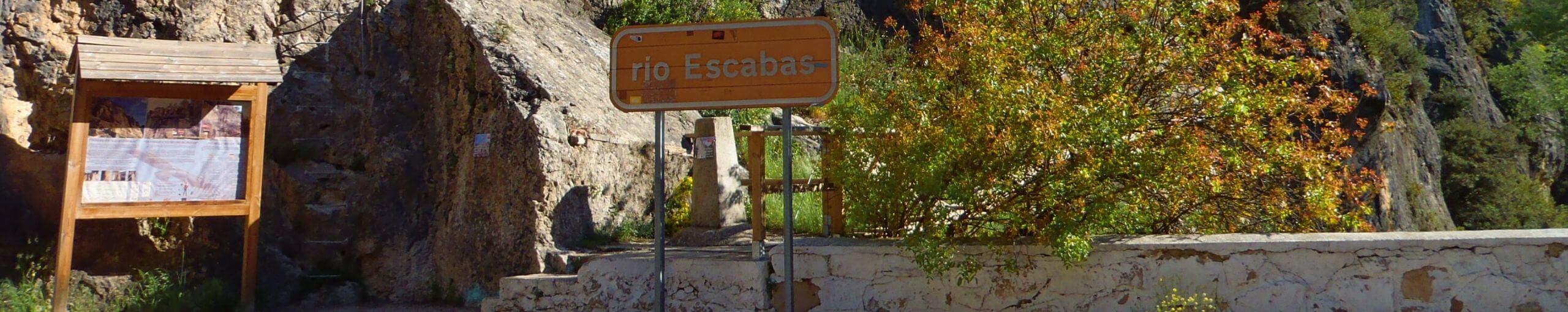 Camino Equipado de la Pasarela del Río Escabas. Priego, Cuenca. Castilla la Mancha.