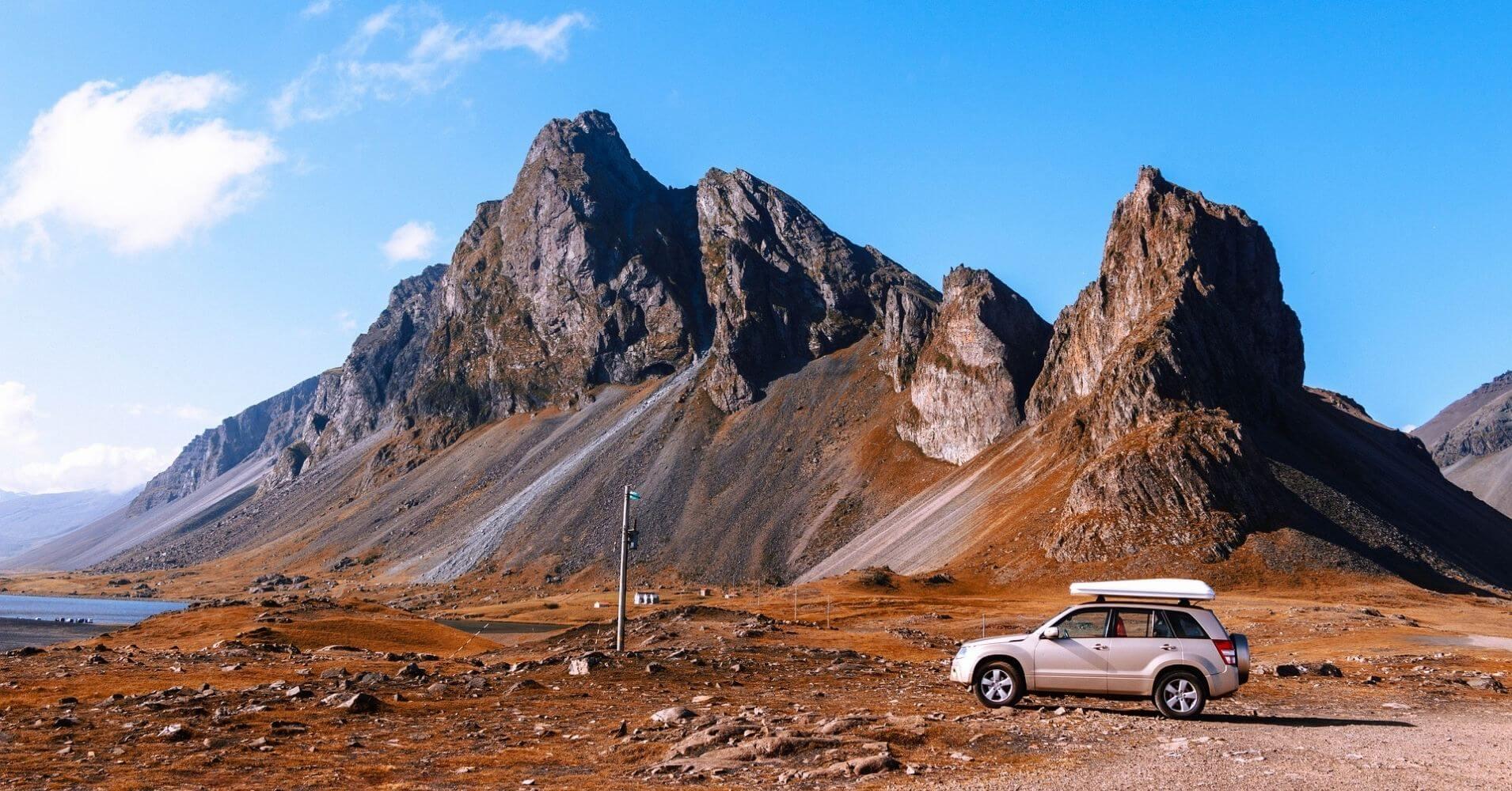 Campervan, Road Trip. Islandia.