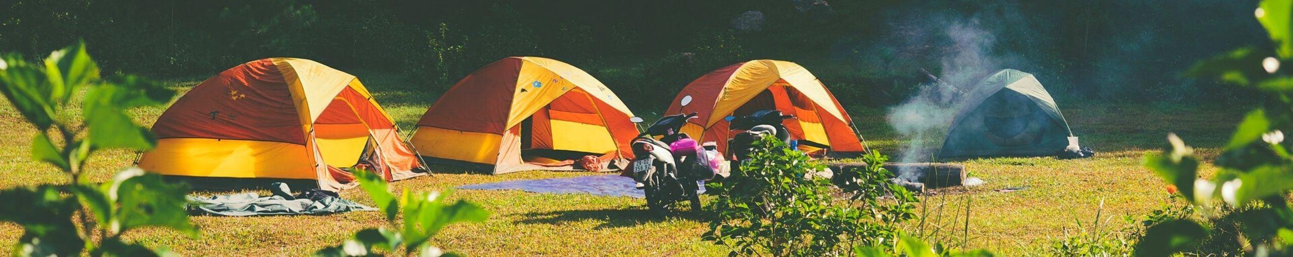 Camping de Francia.