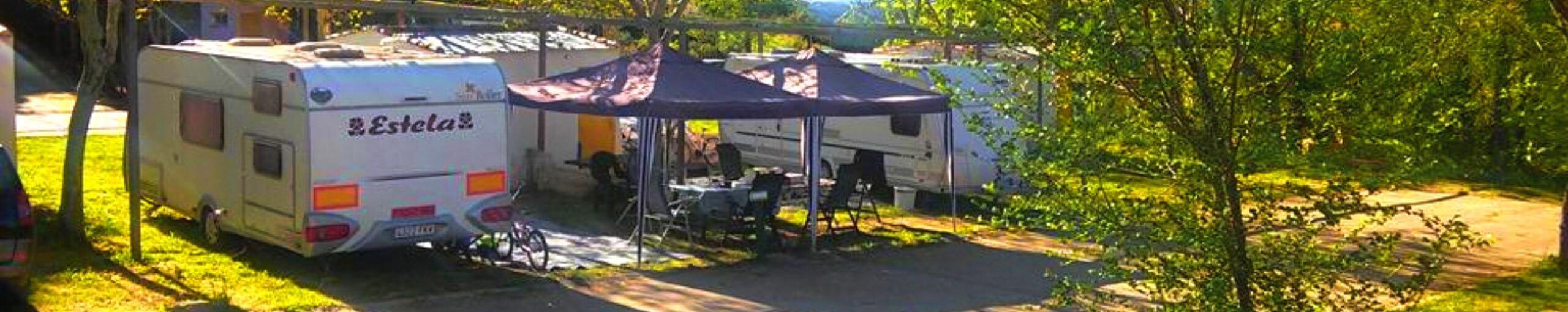Camping Navahermosa. Toledo, Castilla La Mancha.