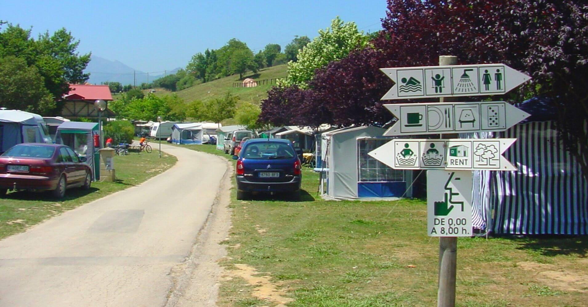 Camping Ribadesella en Asturias.
