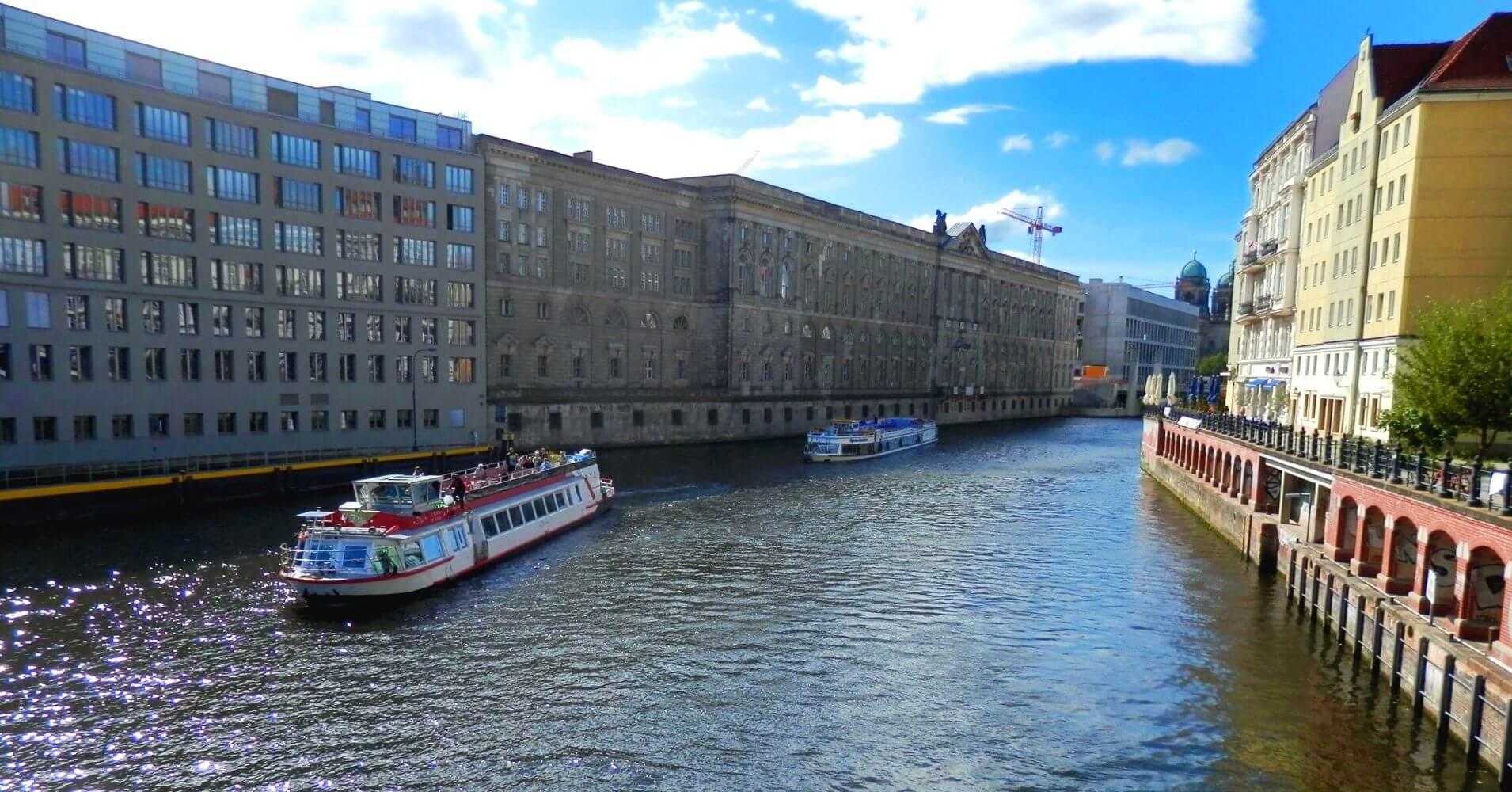 Canal de Berlín, Alemania.