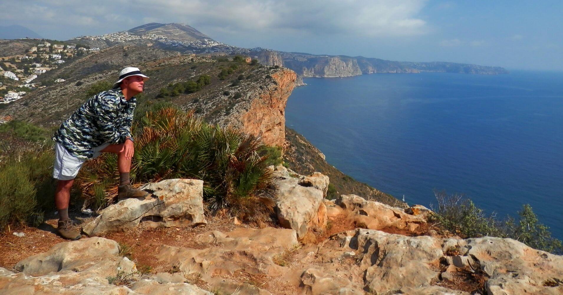 Cap d' Or a Vuelo de Gaviota. Moraira, Alicante. Comunidad Valenciana.