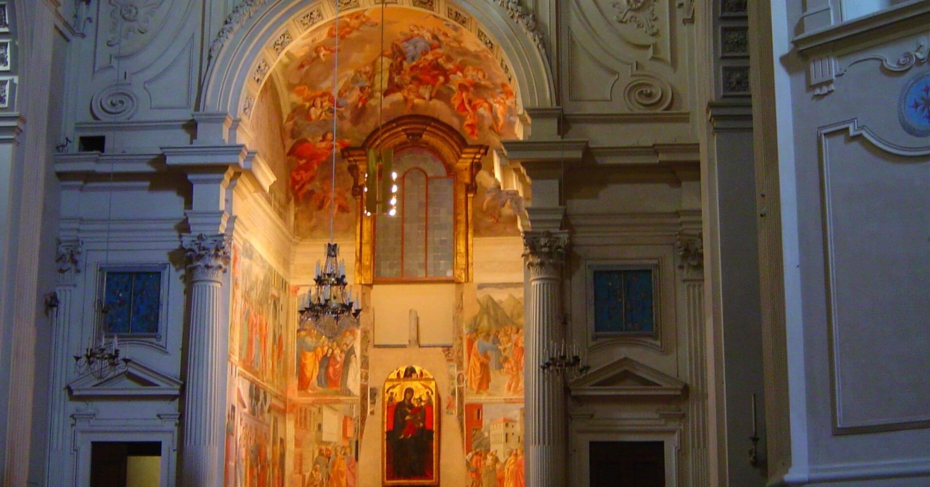 Capilla Brancacci Masaccio, Santa María Carmine. Toscana, Italia.