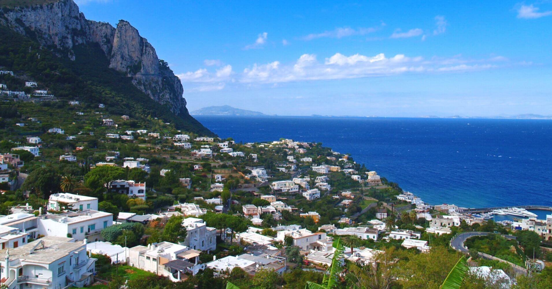 Capri la isla Bonita, Campania en Italia.