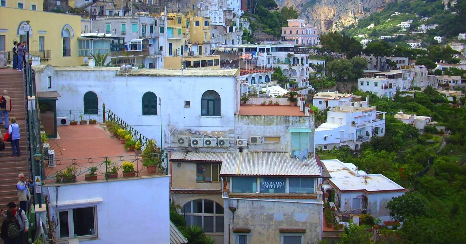 Capri. Región de Campania. Italia.