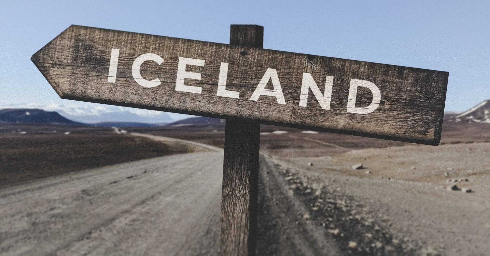 Cartel Islandia.