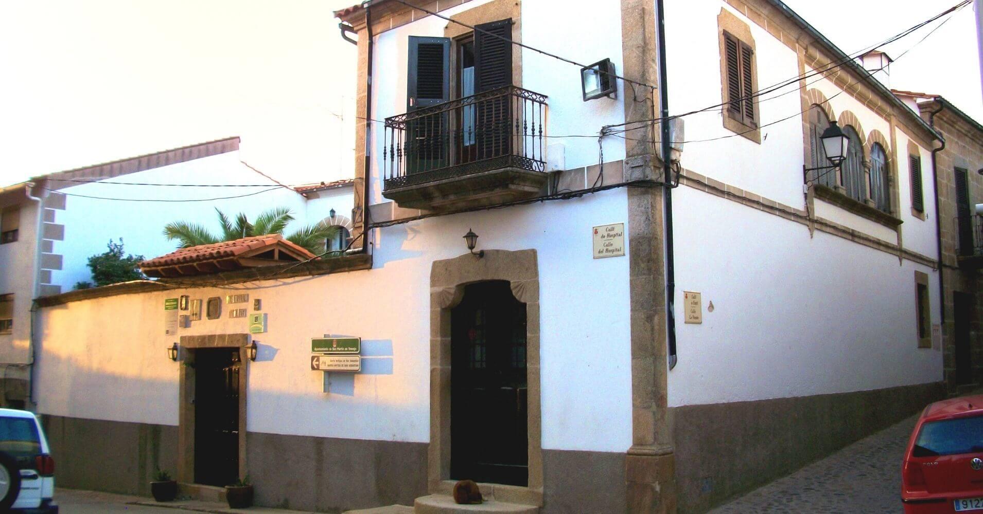 Casa Rural Antolina. En la Sierra de Gata. Cáceres, San Martín de Trevejo. Extremadura.