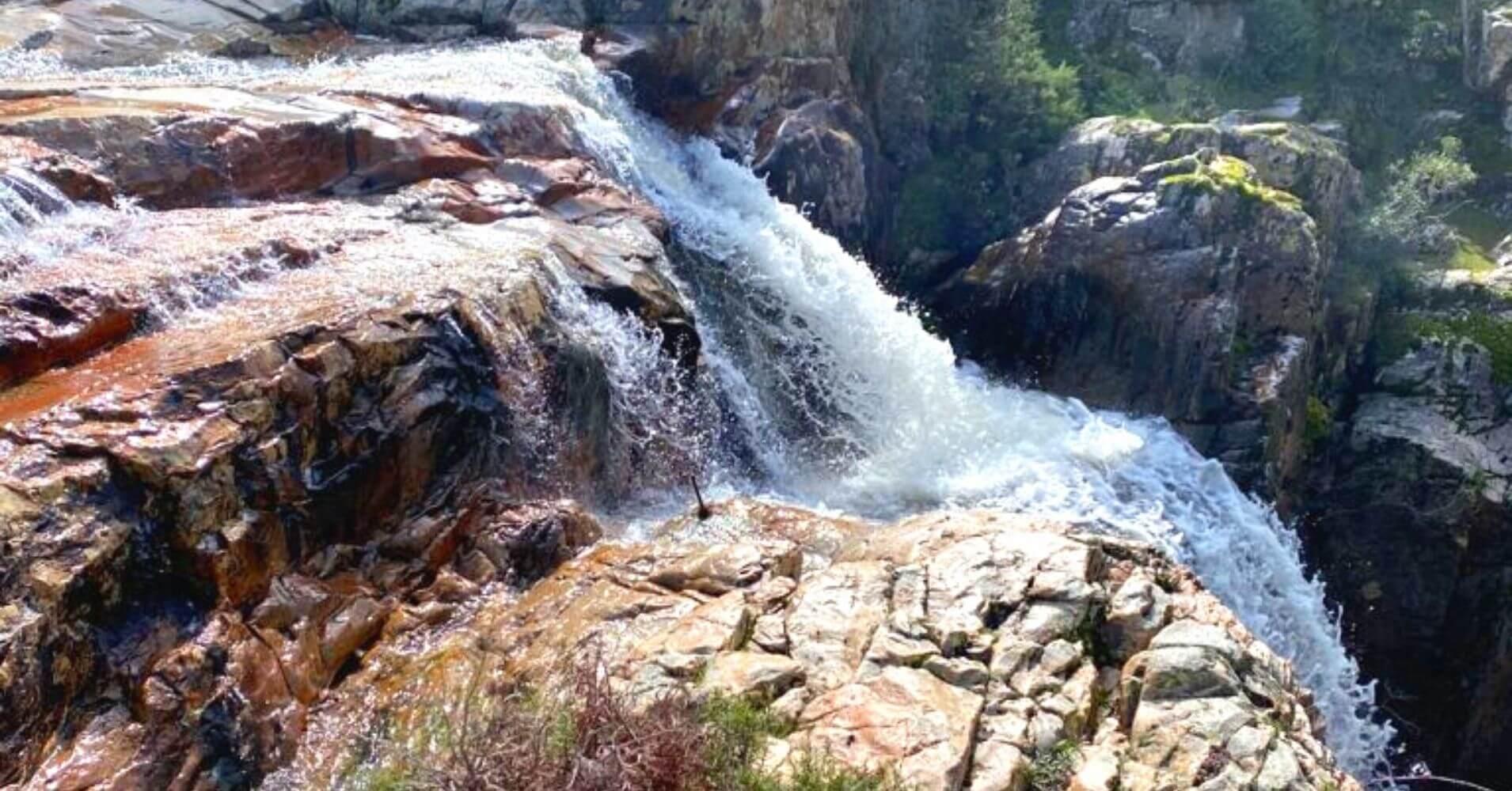 Cascada de La Batanera, Fuencaliente, Ciudad Real. Castilla La Mancha.