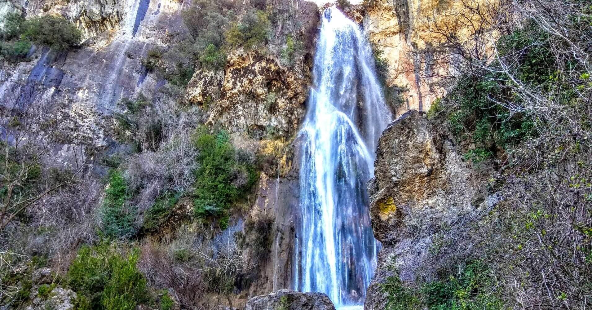 Cascada de Chorrogil. Sierra de Cazorla, Jaén. Andalucía.