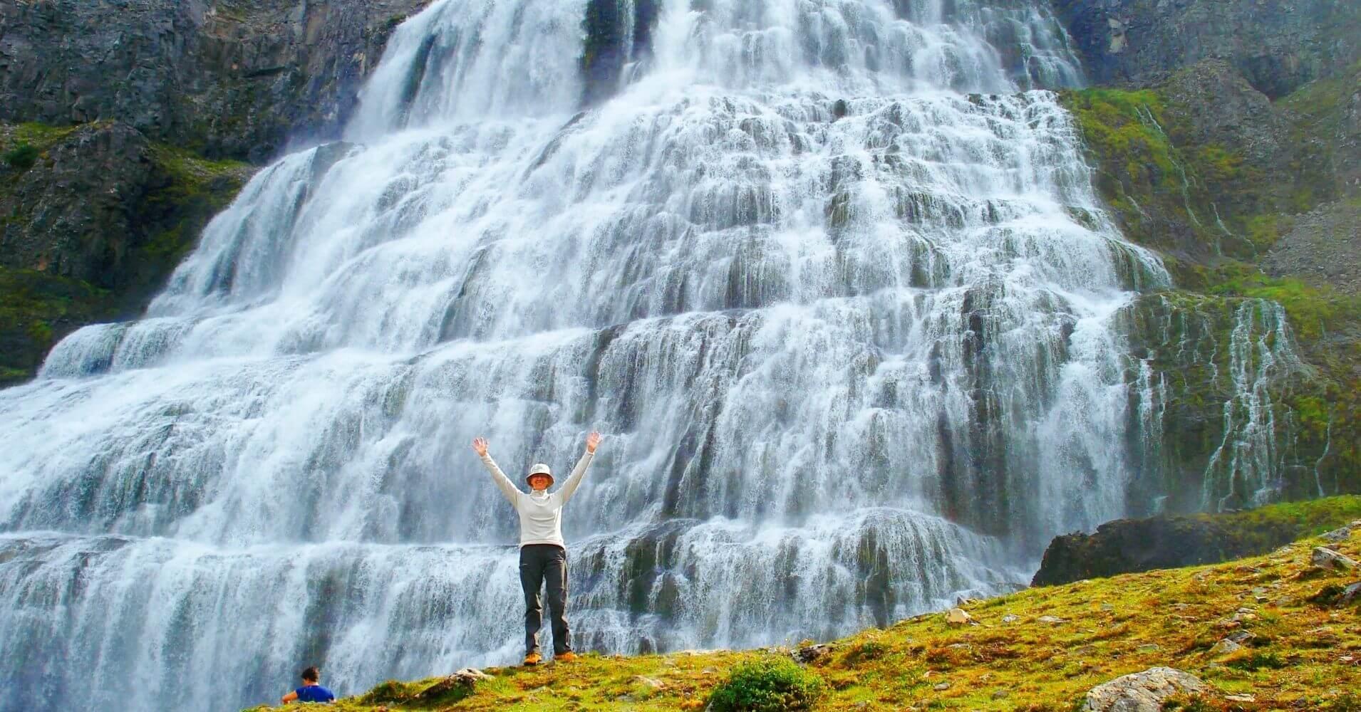 Cascada de Dynjandifoss. Fiordos del Oeste. Ísafjörður. Vestfirðir. Islandia.