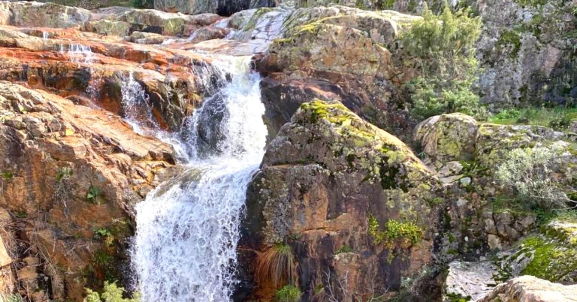 Cascada de la Batanera. Valle de Alcudia y Sierra Madrona. Fuencaliente, Ciudad Real.