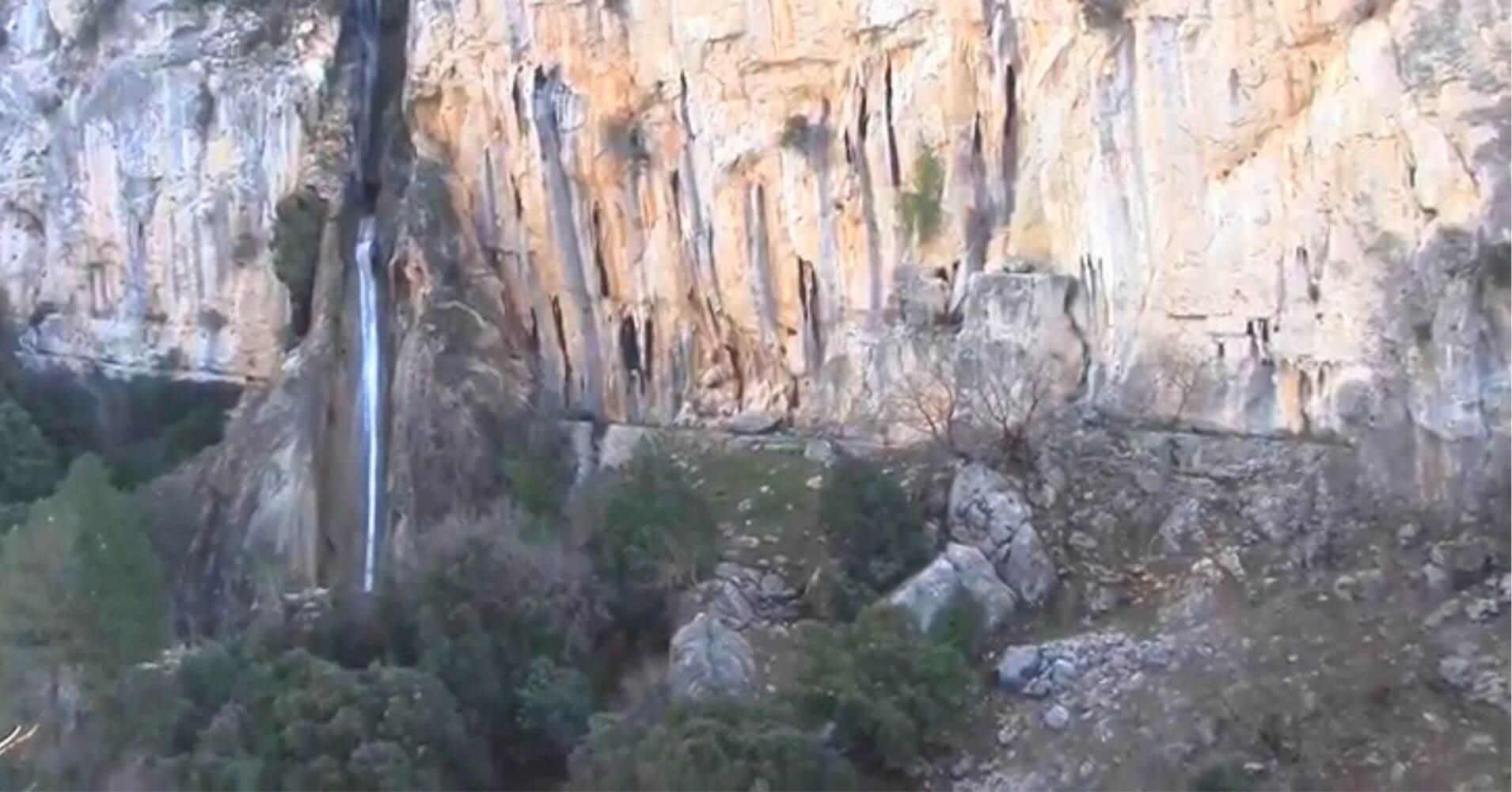 Cascada de Linarejos en la Sierra de Cazorla. Jaén. Andalucía.