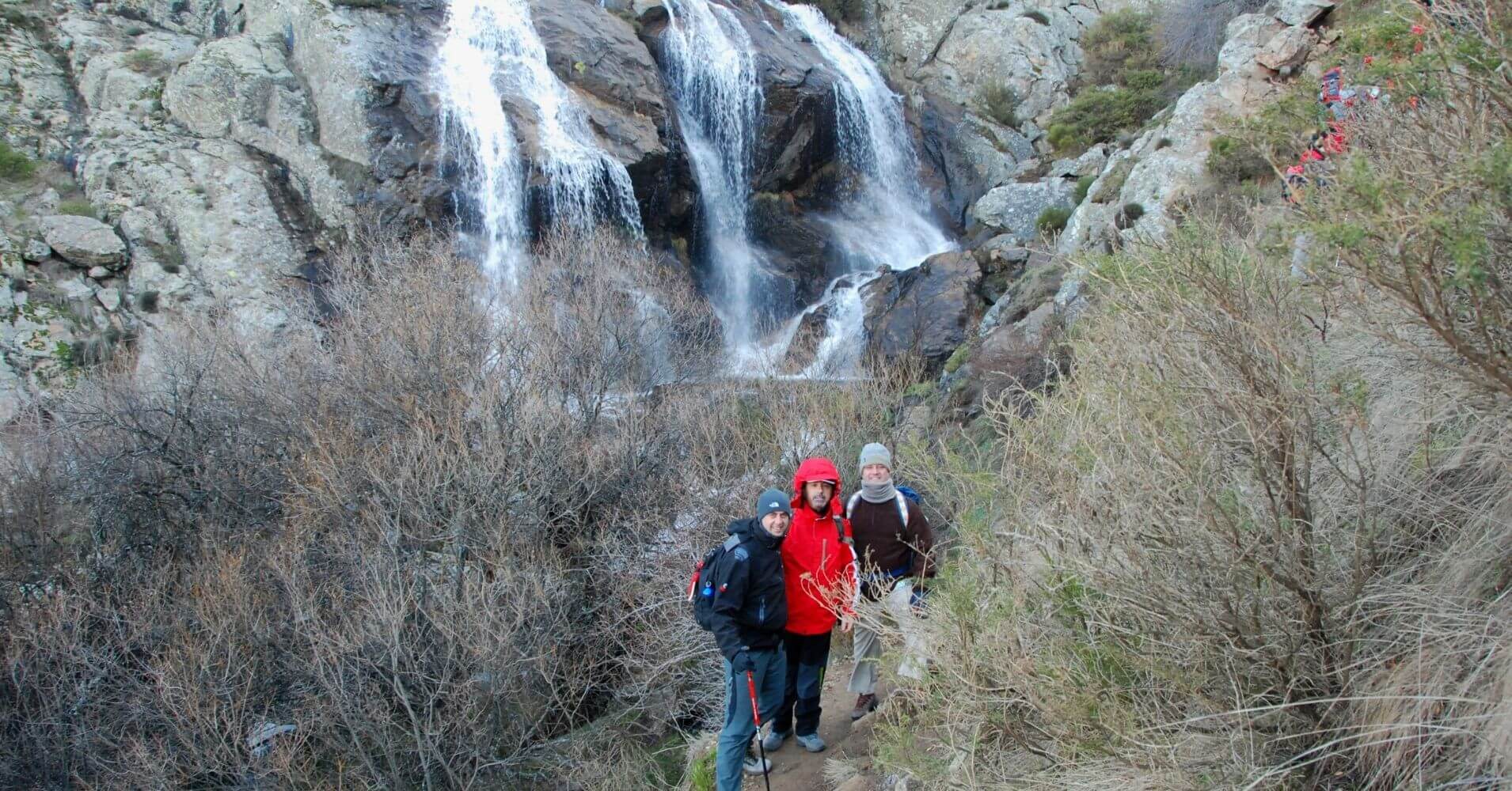 Cascada de Somosierra. Madrid.