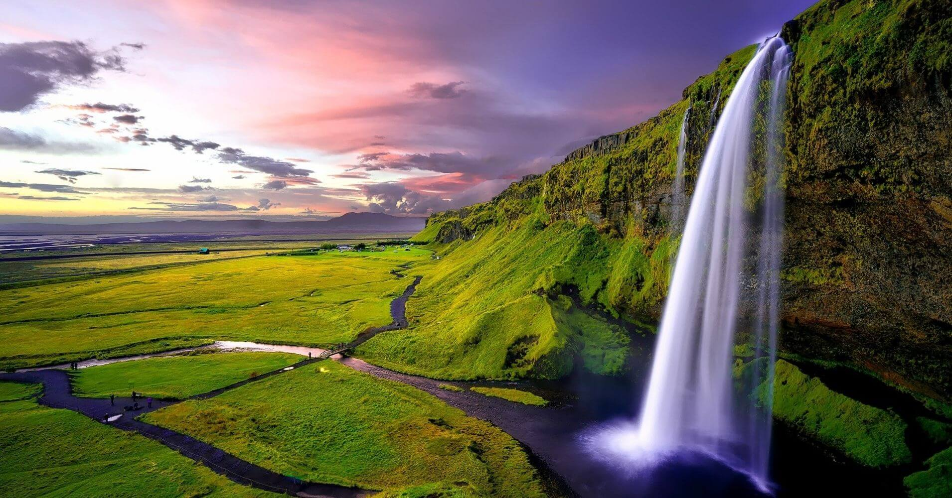 Cascadas de Islandia.