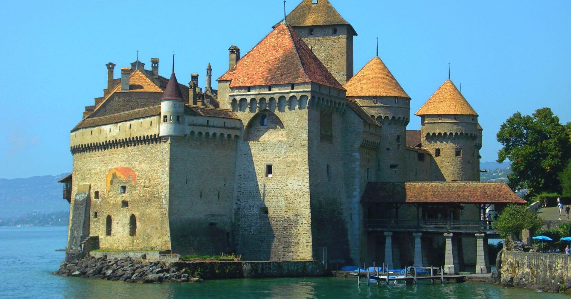 Castillo Chateau de Chillón. Veytaux, Suiza.