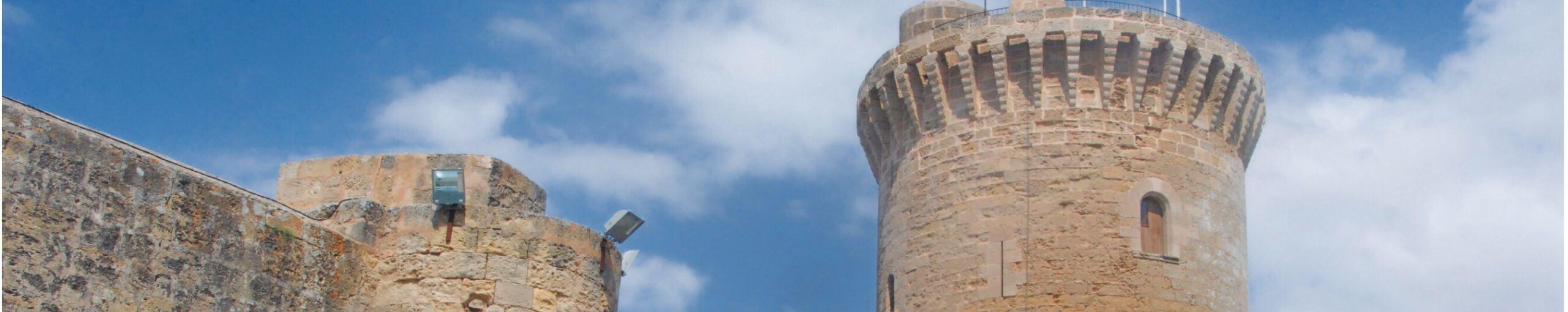 Castillo de Bellver. Isla de Palma de Mallorca. Islas Baleares.