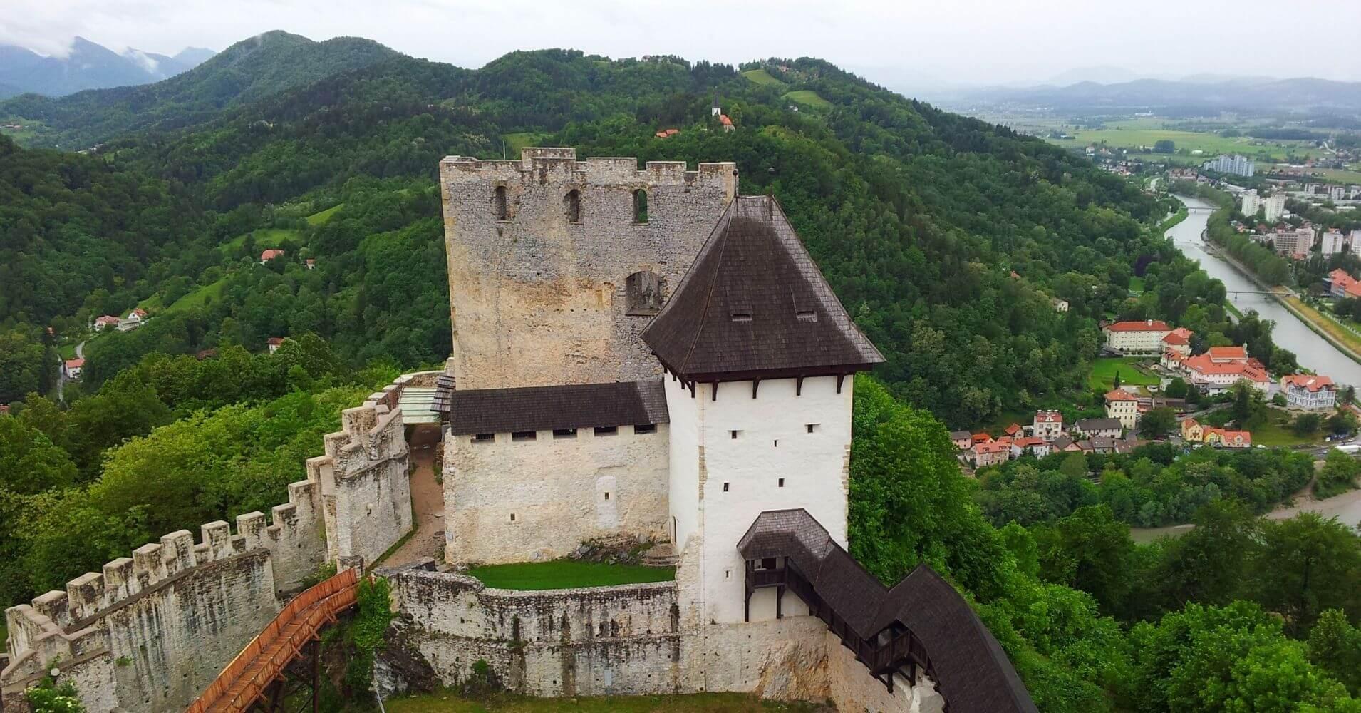 Castillo de Celje. Eslovenia.